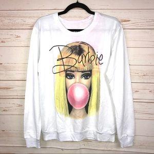 Barbie Graphic Crewneck Sweatshirt by Mighty Fine